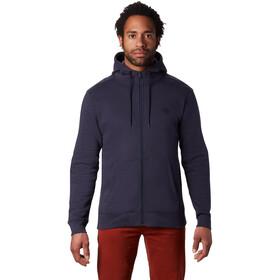 Mountain Hardwear Hardwear Logo Full Zip Hoody Men, dark zinc